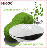 Car Ionizer Air Purifier , Aromatic Liquid Refreshing , Green Mini Car Air Purifier
