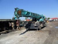 Used Kebolco Truck Crane /45ton all rough terrain crane,kobelco RK450 crane