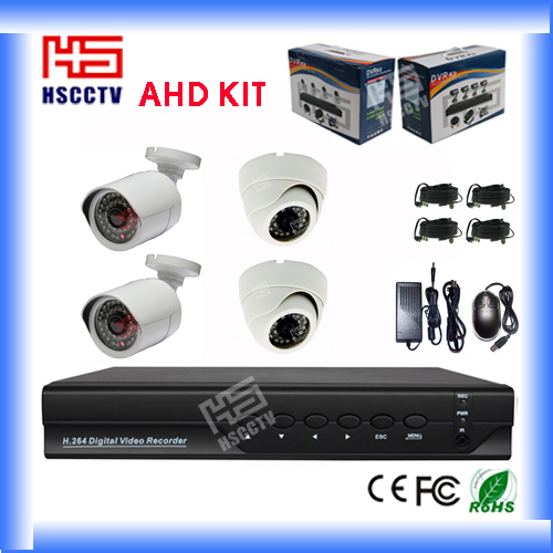 4CH Real Time H.264 Network CCTV Home Security Product