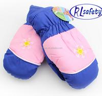 Professional waterproof skiing gloves,heated Kid Ski Gloveswith waterproof insert