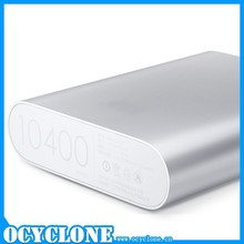 Original xiaomi power bank 10400 mAh for samsung s6 charger