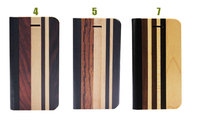 wood and leather cell phone cases for iphone5s phone housing case