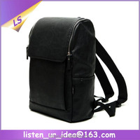 High Quality Cool Men Laptop Leather Backpack