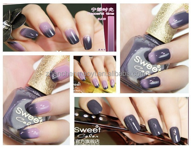 Temperature Change Color Uv Gel Nail Polish /gel Polish Change Color ...