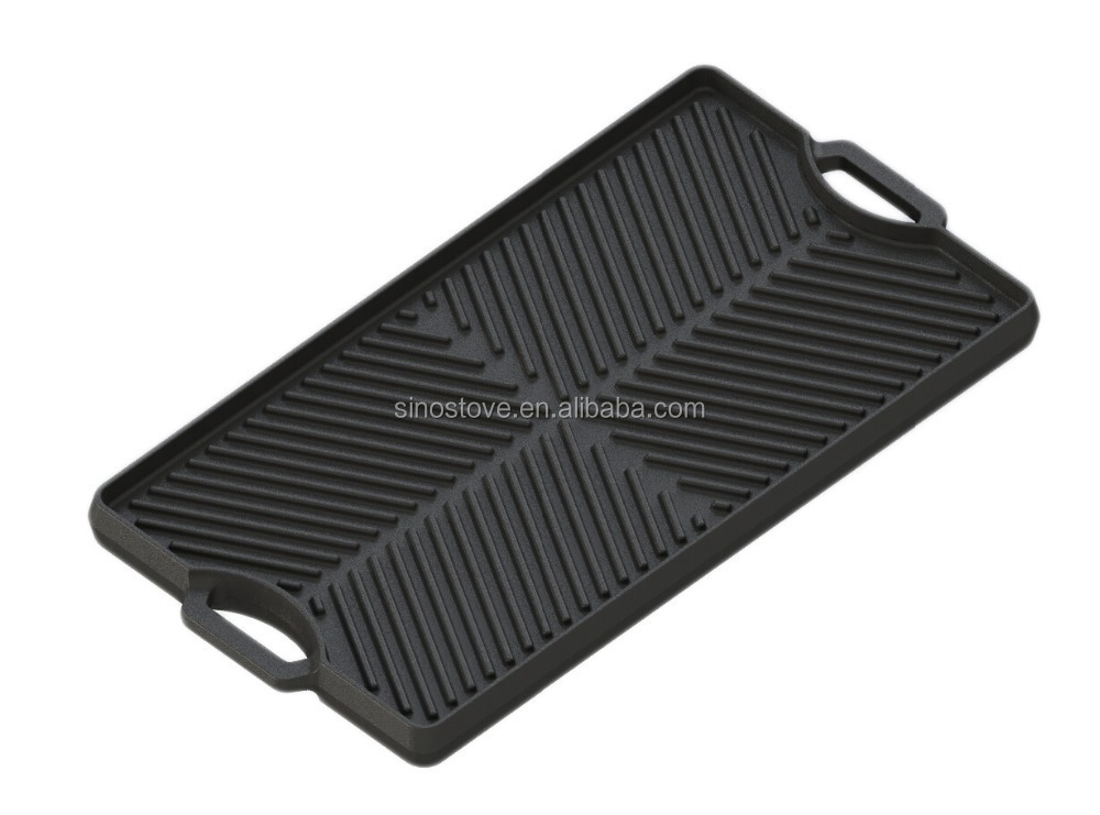 how to clean a cast iron griddle plate