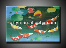 Superior Quality Fish Oil Painting