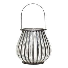 hanging glass hurricane lantern