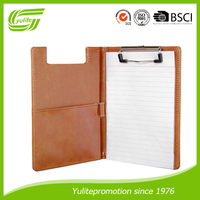 popular design a4 leather hanging file folder