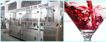 alcohol equipment/ alcohol filling/ alcohol sweet red wine/alcohol free wine