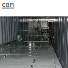 simple to stall the Containerized Block Ice Machine in 40 feet