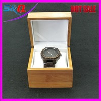 Japan Movt Quartz Vogue Watch Wood Watches Box