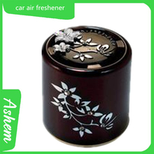 Black gel freshener hot style black air freshener with logo printing AS-043