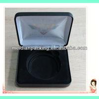 Dongguan handmade silk printed leather display coin box