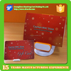 Hot sell plastic TK4100 rfid PVC gift card with card holder for Christmas promotion