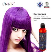 OEM/ODM high quality vivid color long lasting shiny crazy color