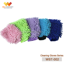Motorcycle cleaning Microfiber wash gloves,car cleaning,microfiber chenille glove
