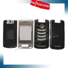 Replacement Parts OEM Full Housing For BlackBerry Pearl Flip 8220-Black