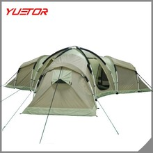 One living room and 3 bed rooms,/family camping tent /outdoor extra large camping tents