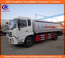 white product transport lubricant tank truck 12000L lubricating oil tank truck 12000liters lube truck