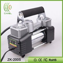 Twin cylinder 12v dc motor specifications car air compressor