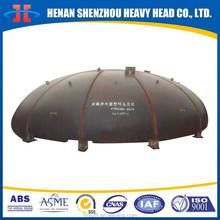 Hot pressing Ellipsoidal head, elliptical head, elliptic head for tanks