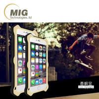 Cell phone cover Love Mei for iphone 6 removable leather AL metal shockproof silicone waterproof For iphone 6 plus
