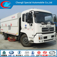 Dongfeng 4X2 road cleaning truck DONGFENG sweeper truck 6wheels 8ton 140hp Dongfeng vacuum street sweeper