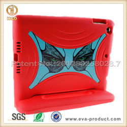 2015 New arrival silicone protective tablet cover for ipad air case with stand