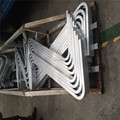 Aluminio tubo de doblez CNC de procesamiento profundo