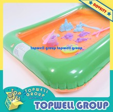 PVC Inflatable Tray Toy for Kids (7 colors)