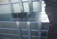 the factory price of galvanized square/rectangular steel tube / tubo galvanizado de acero galvanizado