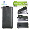 2014 New Design Business Style Thermoforming Flip Leather Case for HTC Desire 700 waterproof mobile phone pouch