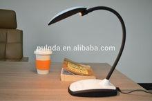 toque moderno sensor led lámpara de mesa