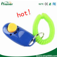 New Dog Pet Plastic Click Clicker Dog Training Clicker Trainer