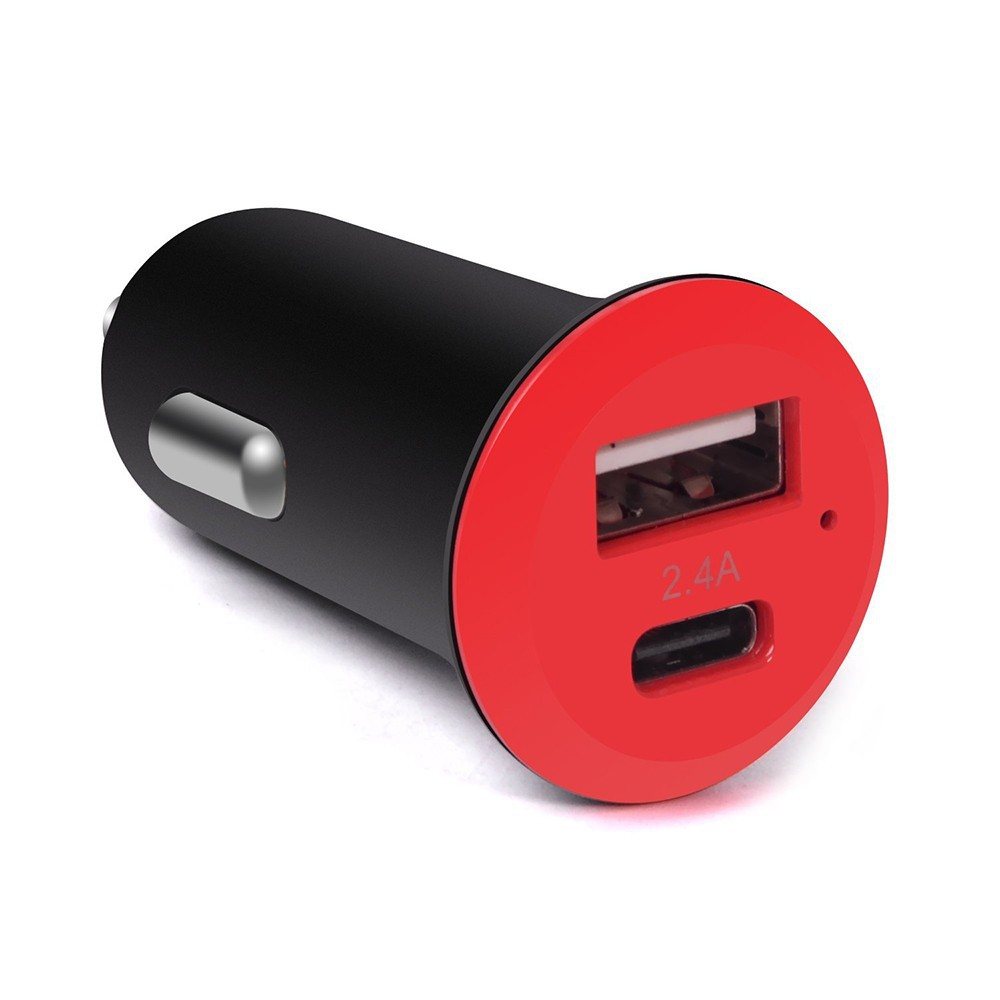 Portable Usb Type C Car Charger Cigarette Charger With