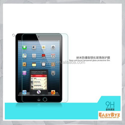 free shipping new Premium Tempered Glass Screen Protector for ipad mini Toughened protective film
