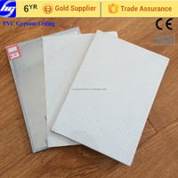 60x60 Suspended False Vinyl coated Gypsum Ceiling Tiles
