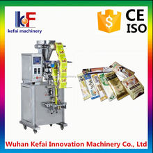 Automatic three in one coffee stick sachet packing machine