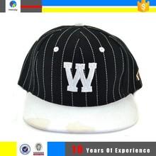design flat brim cap and snapback hat