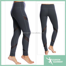 2015 hotsell stretchy leggings printed tights net sports mesh wrapped around the leg women's fitness apparel mesh leggings