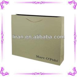 Custom Printed Metallic Color Shopping Bags Wholesale