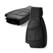 New car key cover for mercedes benz smart key shell chrom smart key 3 button