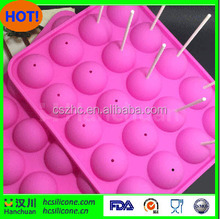 DIY Silicone Baking Tools 20 Cells Lollipop Chocolate Mold With Stick Non Stick Tasty Top Pops Lollipop Complete Baking Kit