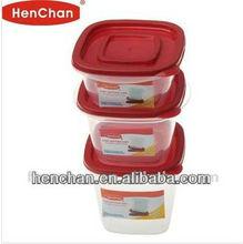 3pcs set food storage box popular in market selling