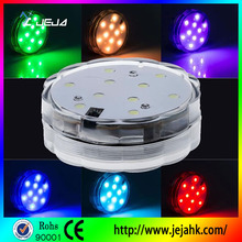 Window Display Remote Controlled LED Weeding Vases Light For Centerpieces