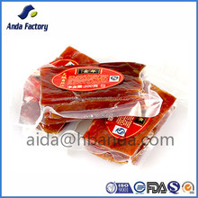 Food grade Transparent vacuum bag /meat packing vacuum Pouch china supplier