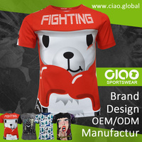 Ciao sportswear - polar bear design dri fit jersey and t shirt