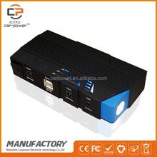 Multi-function car jump starter with backup diesel truck 12V 15000mAh car power pack