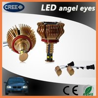 Good quality factory price waterproof various led angel eyes for bmw e46 compact
