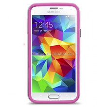 Newly design premium Double Layer case,PU phone case,case shockproof for Samsung Galaxy S5